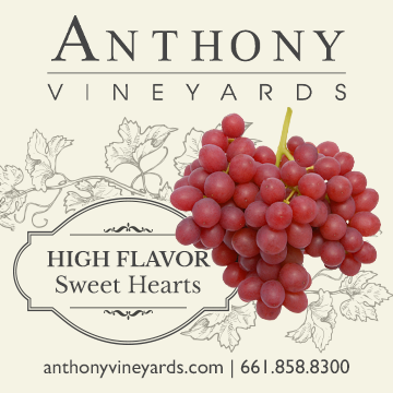 Anthony Vineyards High Flavor Sweet Hearts Table Grapes