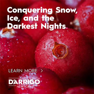 Conquering Snow, Ice, and the Darkest Nights. D'Arrigo | Learn More