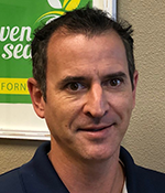 Brent Young, Manager of Sales, Visalia, Seven Seas