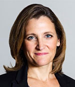 Chrystia Freeland, Foreign Affairs Minister, Canada