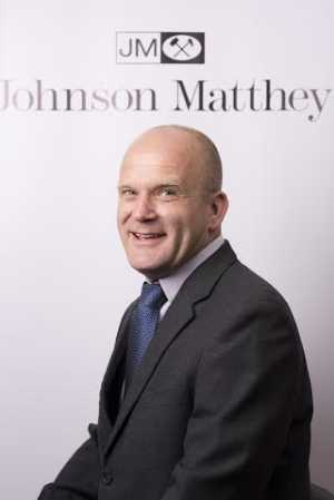 Dr. Gary Ward, Technical Development Manager, Johnson Matthey
