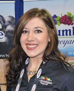 Lauren Olcott, Marketing Representative, Columbine Vineyeards