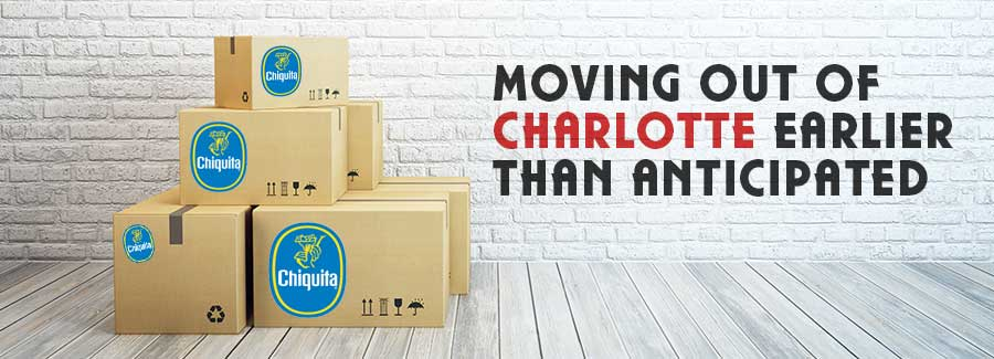 Chiquita Moving Out of Charlotte Earlier than Anticipated