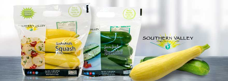 Southern Valley Showcases Newly-Launched 2 lb Grab & Go Bags for Yellow Squash and Zucchini