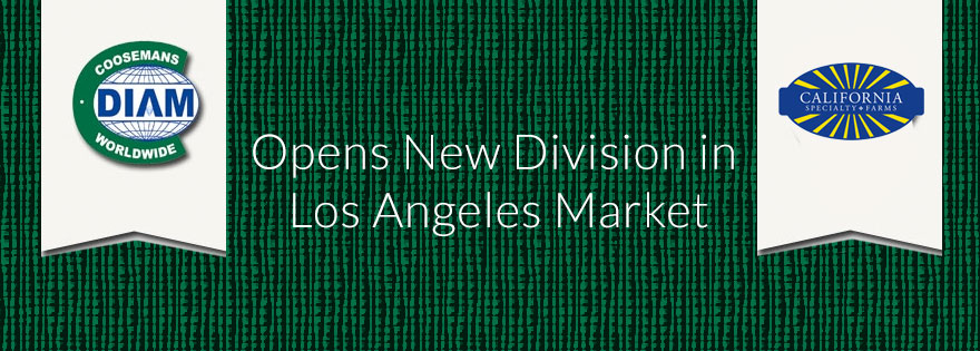 Coosemans Worldwide Opens New Division in Los Angeles Market