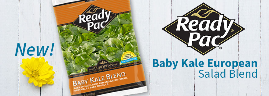 Ready Pac Offering New Baby Kale European Salad Blend