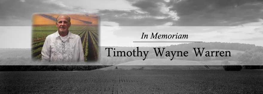 In Memoriam: Timothy Wayne Warren