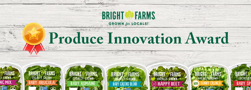 BrightFarms Recognized by Walmart with Produce Innovation Award