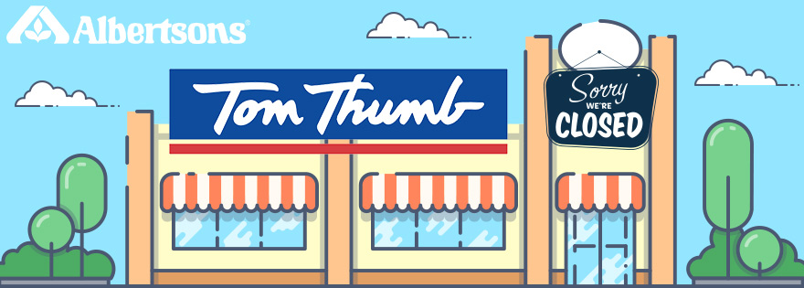 One Tom Thumb Store Added to List of Grocery Store Closings, Two More Set to Open