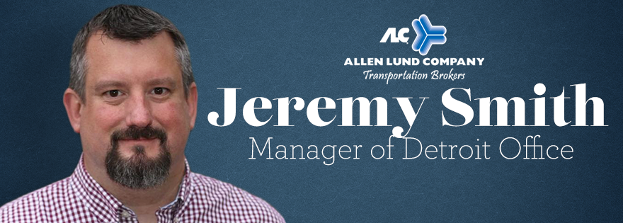 Allen Lund Company Welcomes Jeremy Smith as New Detroit Office Manager
