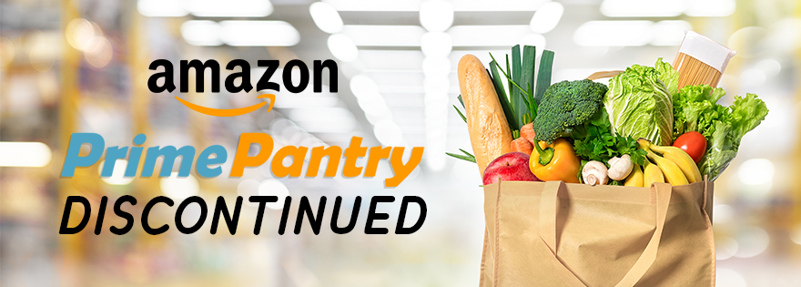 Amazon Shutters Prime Pantry Division