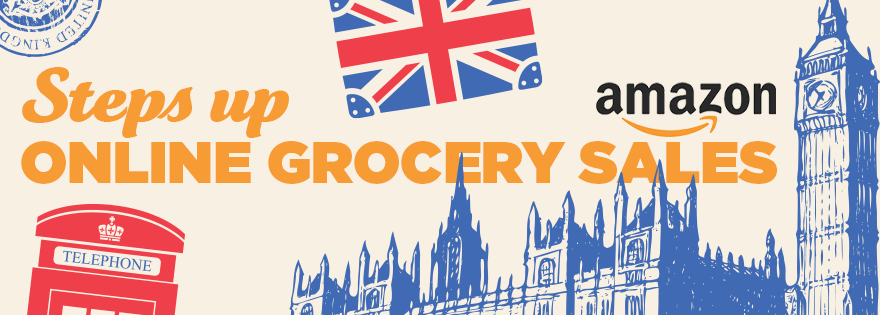 Amazon Steps up Competition in U.K. Online Grocery Sales With Faster, Free Delivery