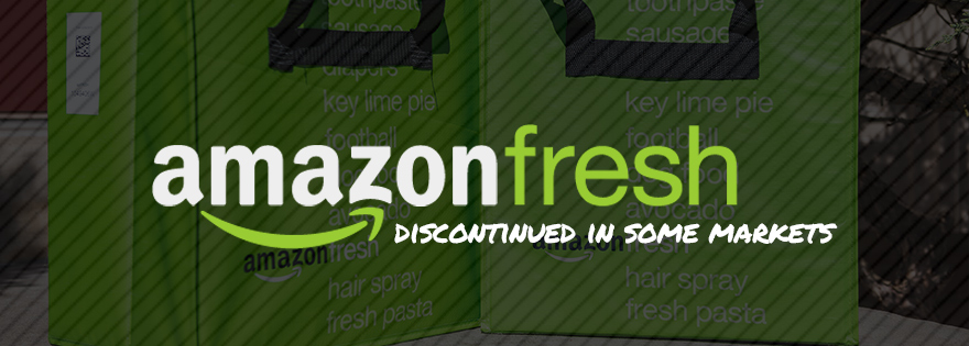 AmazonFresh to Be Discontinued in Several U.S. Markets