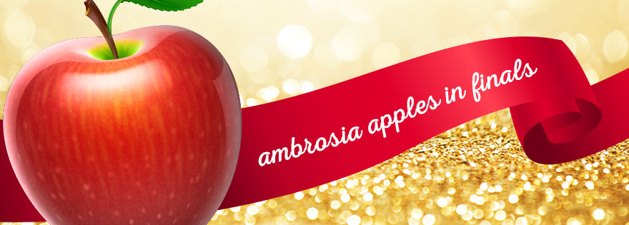 CMI'S Ambrosia™ Apples Make Finals in the U.S. Apple Association's March Madness Chompionship