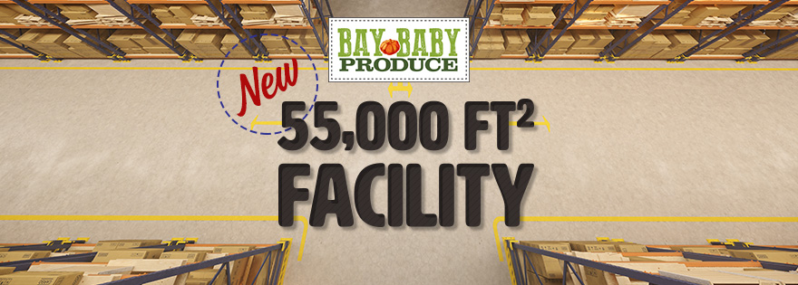Bay Baby Produce Completes Construction on Newest Facility