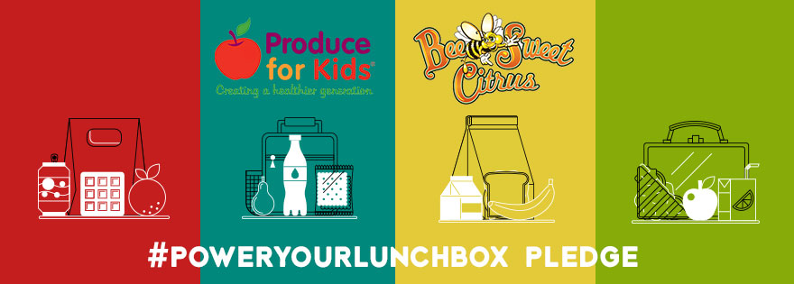 Bee Sweet Citrus Partners with Produce for Kids on Power Your Lunchbox Pledge