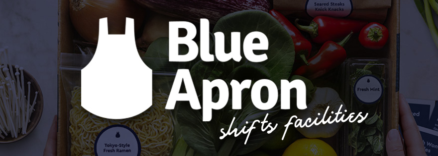 Blue Apron to Close New Jersey Facility, Moves Jobs and Plans for Growth