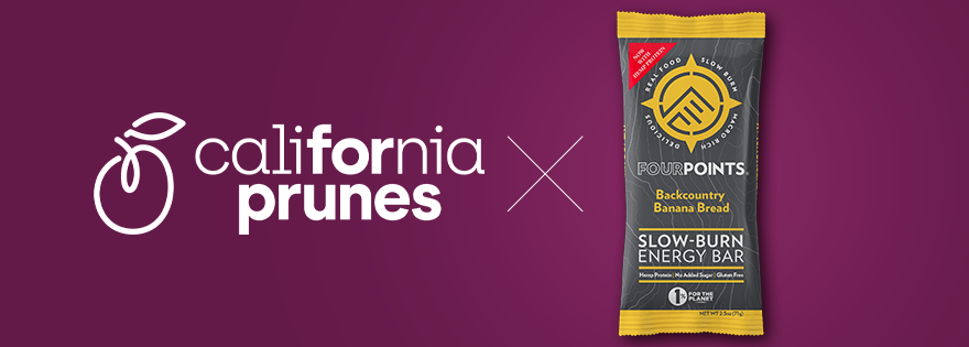California Prunes Shine in Fourpoints® Energy Bars