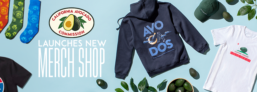 California Avocado Commission Launches Merchandise Shop