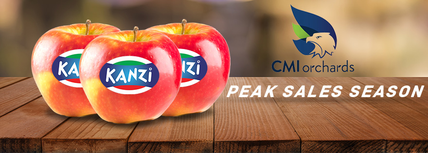 CMI Orchards Nears Seasonal Sales Peak for Kanzi® Apples