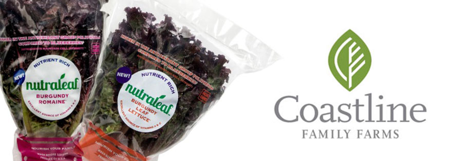 Coastline Family Farms to Introduce New Nutraleaf Burgundy Leaf Lettuce™ and Nutraleaf Burgundy Romaine™ Varieties