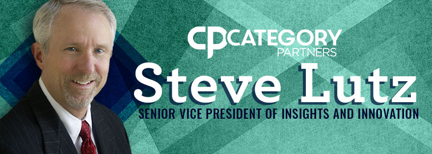Steve Lutz Joins Category Partners as Vice President of Insights and Innovation