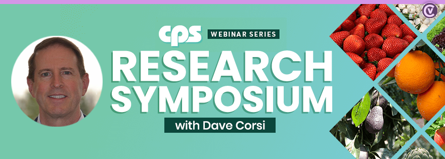 Dave Corsi Discusses Center for Produce Safety's Research Symposium Pivoting to Online Webinar Series