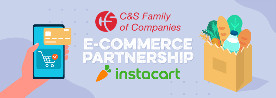 C&S Wholesale Grocers Partners With Instacart to Offer E-Commerce Solutions