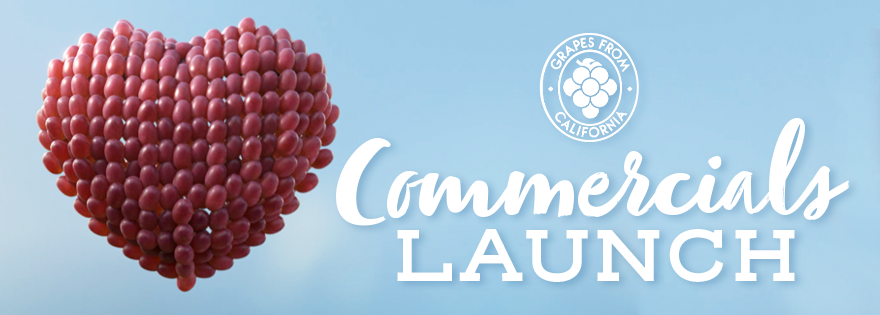 California Table Grape Commission Launches New Commercial Campaign