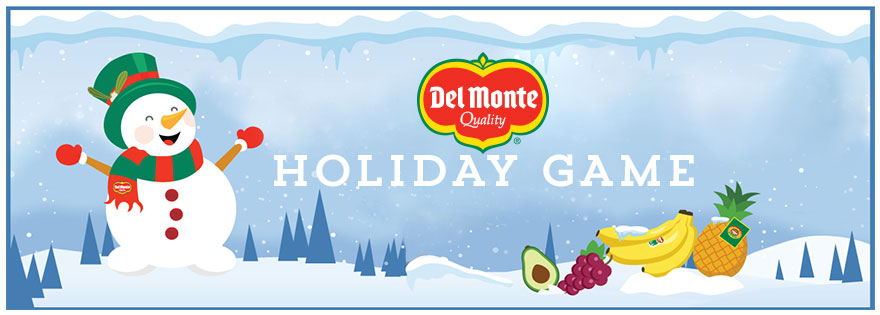 Del Monte Fresh Produce Announces New Consumer Promotion to Ring in the Holiday Season