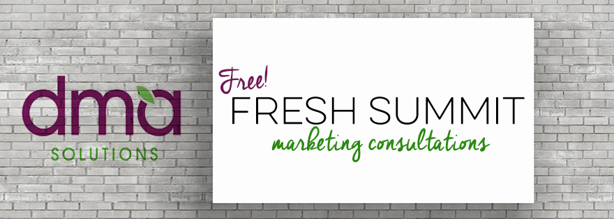 DMA Solutions Offers Free Marketing Consultations at PMA Fresh Summit