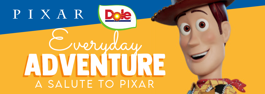 Dole Inspires Everyday Adventure With a 2020 Salute to Pixar