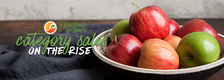 Superfresh Growers® Reports an Increase in Sales for Apples and Pears