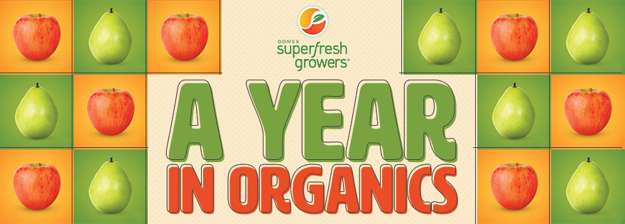 Superfresh Growers® Reports on Organic Apple and Pear Market