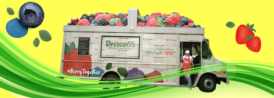 Driscoll's Expands National #BerryTogether Berry Campaign