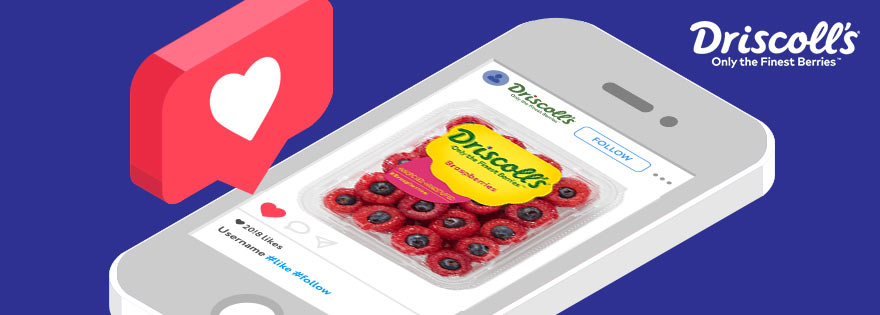 Driscoll's® Jumps on Braspberry Craze with Social Media Fun