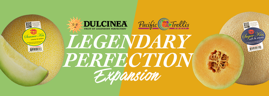"Dulcinea Expands ""Fruit of Legendary Perfection"" Brand With Kiss Melons"