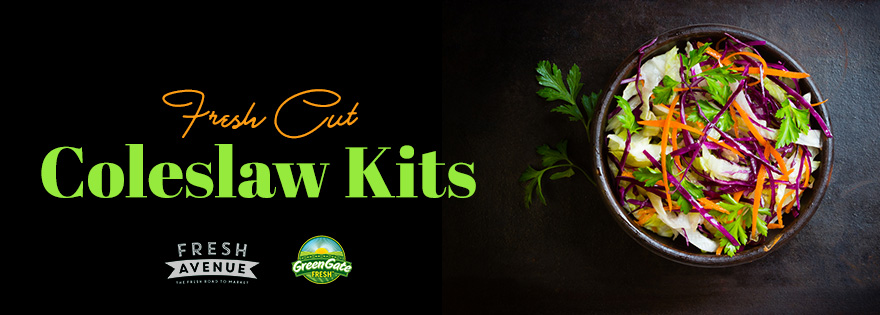 GreenGate Fresh and Fresh Avenue Launch New Coleslaw Kit