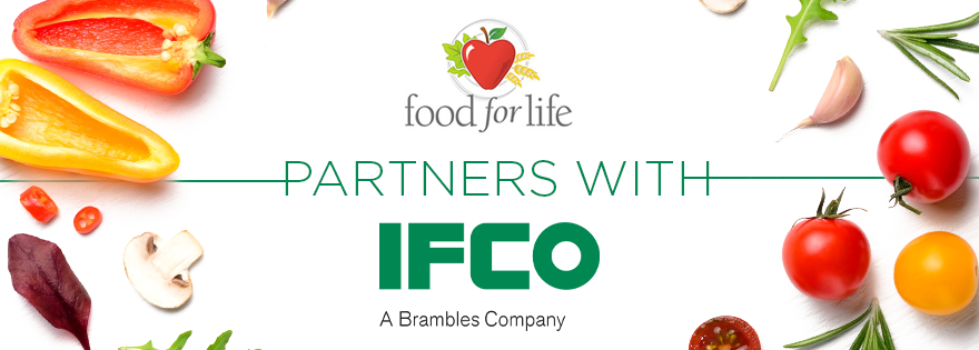 Food for Life and IFCO Partnership Takes a Bite Out of Food Waste and Hunger in Ontario, Canada, Communities