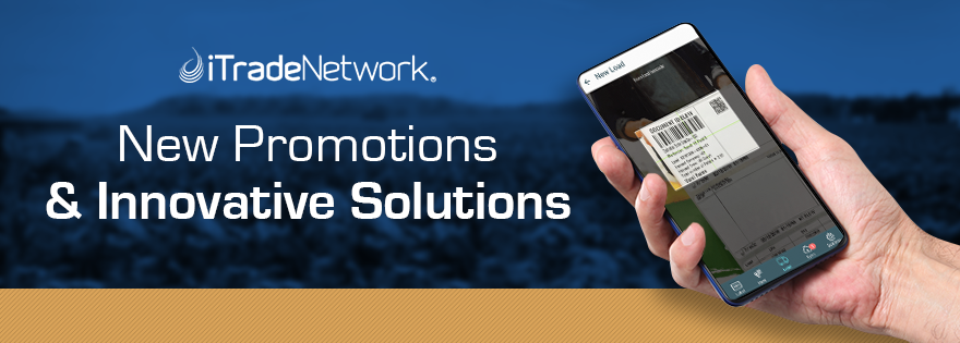 iTradeNetwork Implements New Promotions for Innovative Solutions