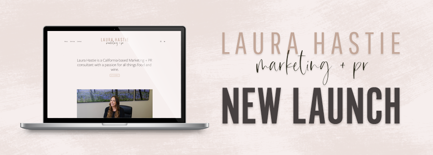Laura Hastie Launches Marketing and PR Website
