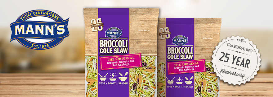 Gina Nucci Discusses Mann Packing's 25th Anniversary of Broccoli Cole Slaw