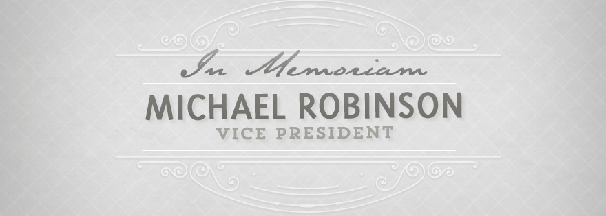 Michael Robinson, Vice President of the Eastern Division of Duda Farms, Passes