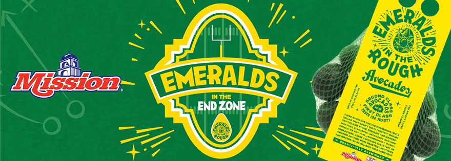 Mission Produce's Emeralds in the End Zone Campaign is Back