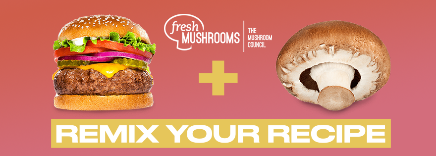 Mushroom Council Launches Ad Campaign for Burger Remixes