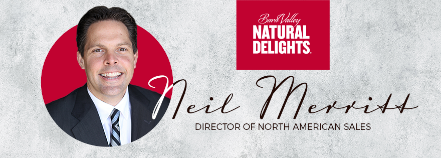 Natural Delights Promotes Neil Merritt to Director of North American Sales