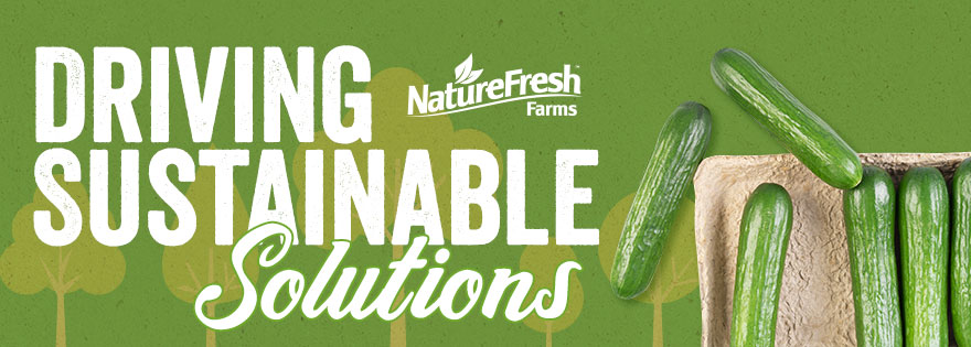 ­­­NatureFresh Farms Puts Sustainability in the Spotlight with Forward-Thinking Compostable Tray