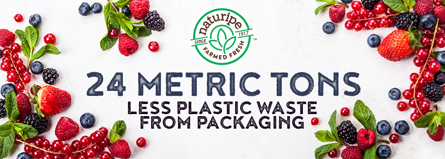 Naturipe Farms Removes 24 Metric Tons of Plastic from Packaging