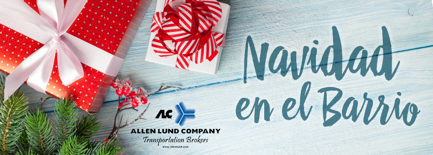 Allen Lund Company Generates Support for Navidad en el Barrio: Kenny Lund, Nora Trueblood, Mike Weaver, Michael Clayton, Joe Esta Comment