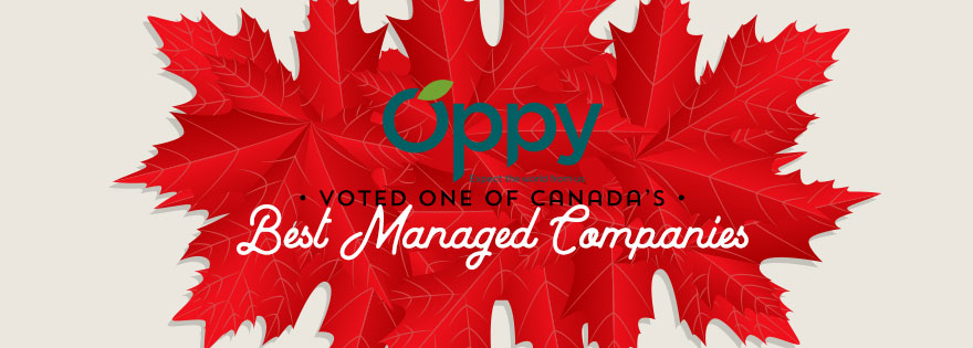 Oppy Honored as One of Canada's Best Managed Companies